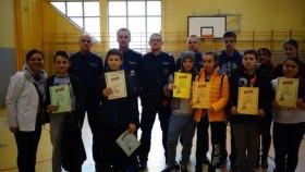 Drużyny z Jedynki z kwalifikacją do zawodów powiatowych w Ogólnopolskim Turnieju Bezpieczeństwa w Ruchu Drogowym