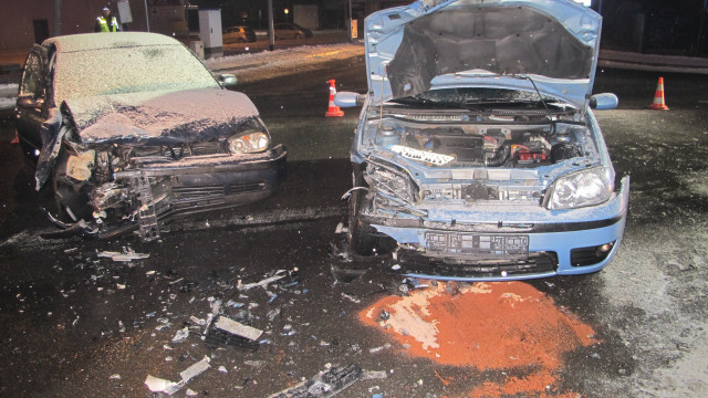 Dwa samochody zderzyły się na skrzyżowaniu w Zasolu. FOTO!
