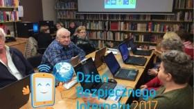 Dzień Bezpiecznego Internetu w kęckiej bibliotece