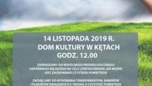 Dzień Czystego Powietrza w Kętach: Zapraszamy do udziału w happeningu!