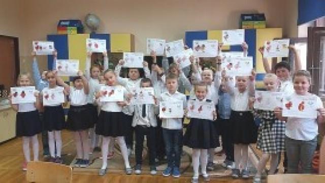 Dzień Dawcy Szpiku dla Michała i Innych w szkole w Witkowicach