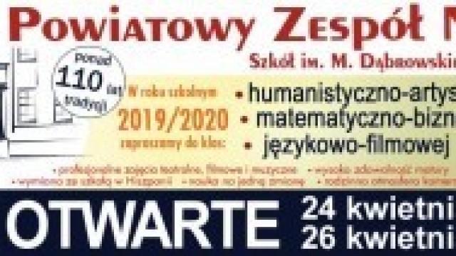 """Dzień Otwarty w """"Dąbrowskiej"""" - zapraszamy!"""