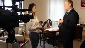 Dziennikarze znów zainteresowani burmistrzem Gminy Kęty