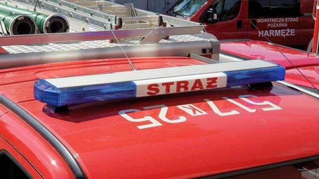 Dziesiątki strażackich interwencji po obfitych opadach