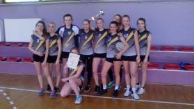Dziewczęta z ZSG 2 Kęty Mistrzyniami Powiatowej Gimnazjady w Koszykówce dziewcząt