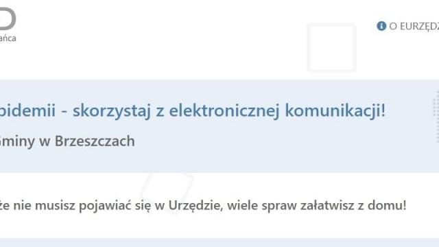 E-Urząd. Skorzystaj z elektronicznej komunikacji - InfoBrzeszcze.pl