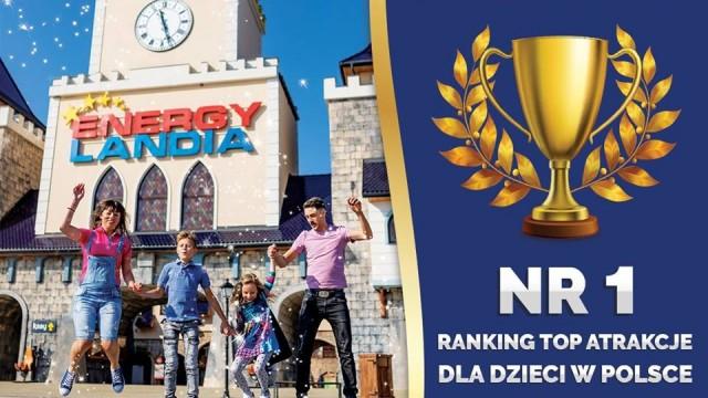 Energylandia najlepszą atrakcją rodzinną w Polsce – FILM
