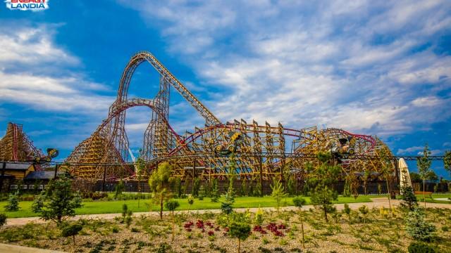Energylandia zaprasza na najwyższy na świecie drewniany roller coaster – FILM, FOTO