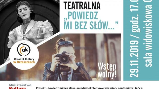 """Etiuda teatralna - """"Powiedz mi bez słów..."""" - InfoBrzeszcze.pl"""