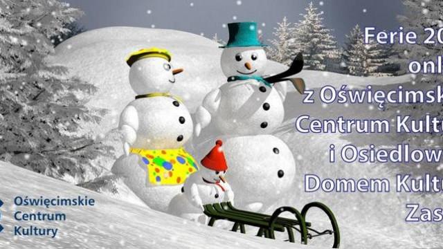 Ferie zimowe z OCK i ODK Zasole 2021 online