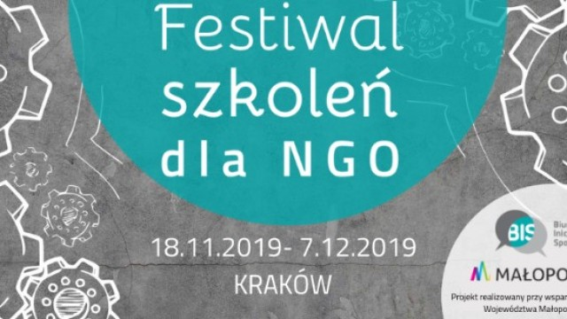 Festiwal szkoleń dla NGO. Oferta dla małopolskich organizacji