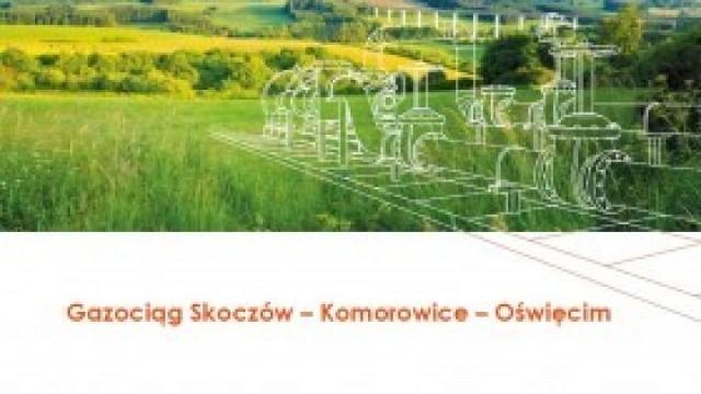 Gazociąg Skoczów-Komorowice-Oświęcim: ruszają prace geodezyjne