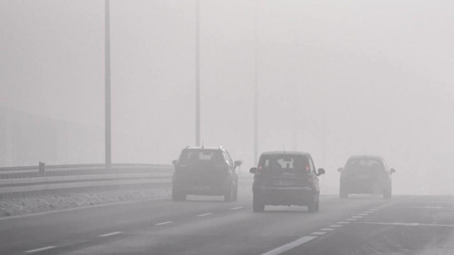 GDDKiA: w sobotę mżawka i mgła utrudniają jazdę kierowcom