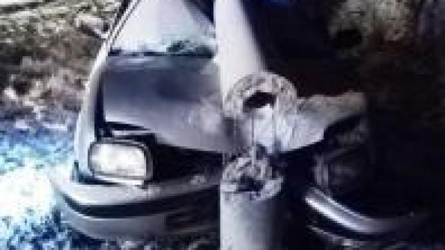 """Gmina Brzeszcze.  Było tylko o """"włos"""" od tragedii na drodze. Policjanci wciąż apelują o ostrożną i rozważną jazdę."""