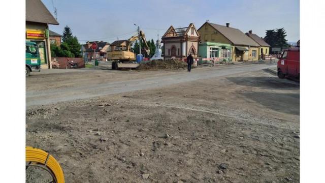 Gmina Kęty - na weekend odblokują ruch na Oświęcimskiej i Bielskiej