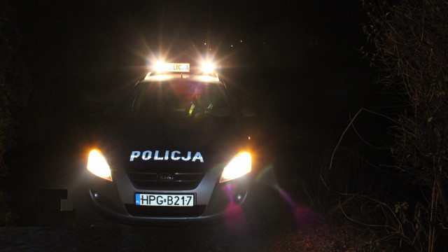 Gmina Kęty. Poszukiwany wpadł w ręce nocnego patrolu przez awarię oświetlenia