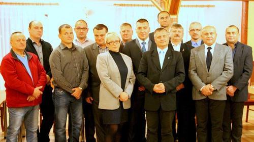 GMINA OŚWIĘCIM. Piotr Śreniawski przedstawił kandydatów na radnych