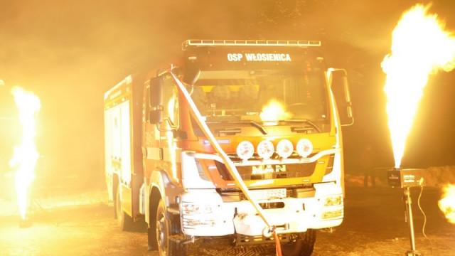 GMINA. Strażacy z Włosienicy mają nowy wóz