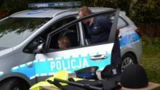 Gmina Zator. Policjanci promowali bezpieczeństwo podczas pikniku charytatywnego