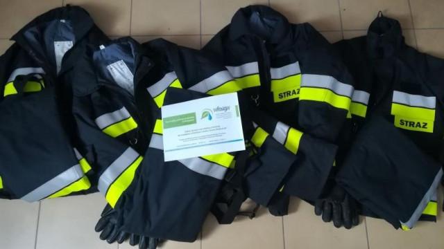 Gminne jednostki OSP dofinansowane ze środków Wojewódzkiego Funduszu Ochrony Środowiska i Gospodarki Wodnej - InfoBrzeszcze.pl