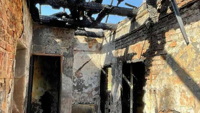 GROJEC. W pożarze domu zginął mężczyzna
