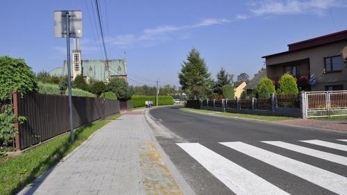 HARMĘŻE. Bezpieczniej dla pieszych w rejonie Centrum św. Maksymiliana