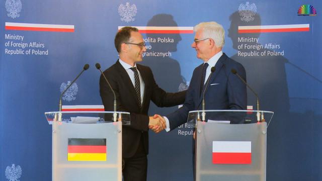HARMĘŻE. Rozmawiali o Brexit, Nord Stream 2 i reparacjach wojennych