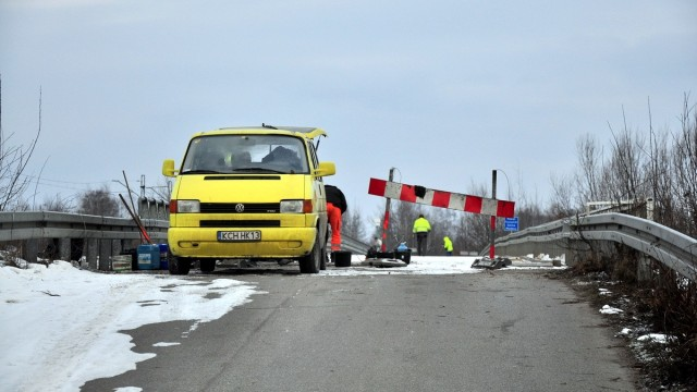 """HARMĘŻE-WOLA. Most """"Bronisław"""" dzisiaj i jutro nieprzejezdny w określonych godzinach"""
