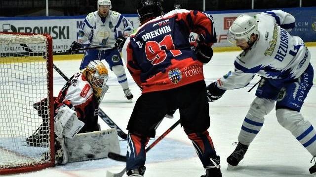 """Hokej. Była szóstka"""" i już jej nie ma, bo Unia Oświęcim przegrała w Toruniu z Energą"""