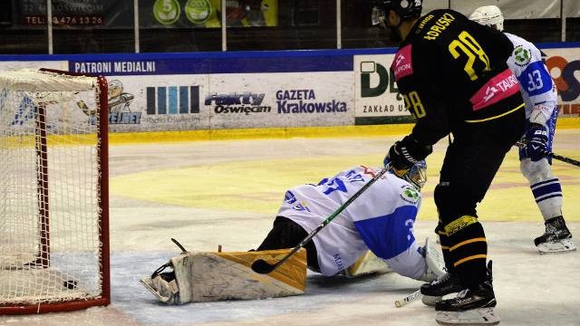 Hokej. Górniczy wstrząs w Oświęcimiu. Unia rozbita przez GKS