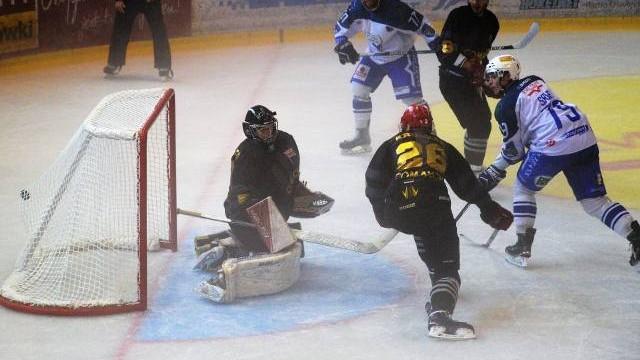 Hokej. Porażka Cracovii w Oświęcimiu z Unią [ZDJĘCIA]