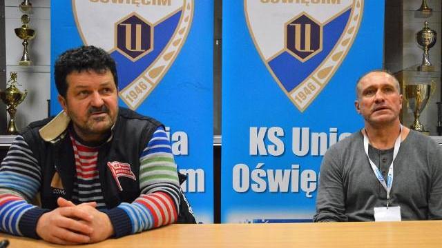 Hokej. Trenerzy Unii Oświęcim i Cracovii o derbach Małopolski: O wyniku zdecydowali bramkarze [WIDEO]