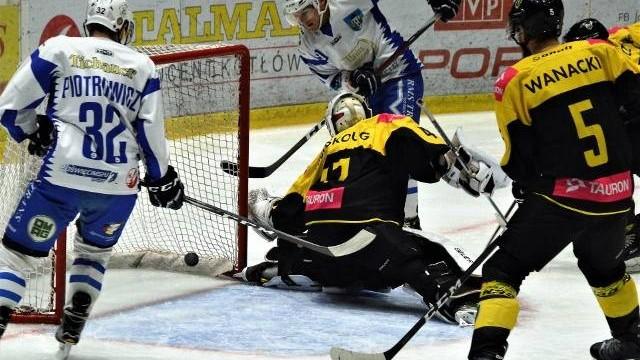 Hokej. W ćwierćfinale play-off Unia Oświęcim zmierzy się z Katowicami [SONDA]