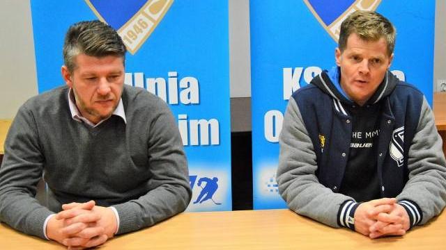 Hokej. Witold Magiera (Unia Oświęcim): Pozytywy po porażce? Jakieś zawsze są [WIDEO]