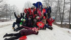 Hu huuu haaa… Nasza zima nie jest zła! - czyli ferie w Świetlicy Środowiskowej w Kętach
