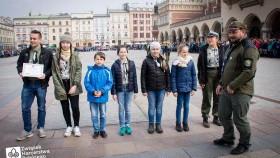 Hufiec Kęty na Święcie patrona Chorągwi Krakowskiej