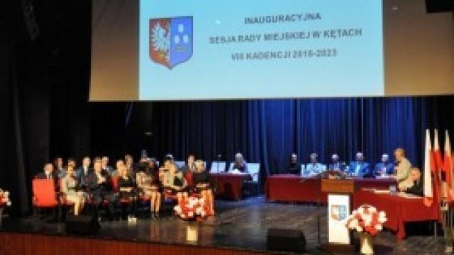 I uroczysta sesja Rady Miejskiej w Kętach