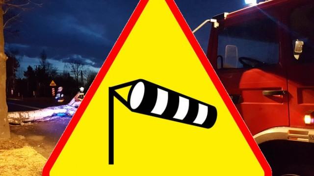 IMGW ostrzega przed nocnymi porywami wiatru, które mogą sięgać 80km/h