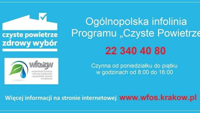 """Infolinia Programu """"Czyste powietrze"""" - InfoBrzeszcze.pl"""