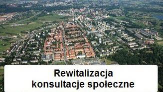 """Informacja o rozpoczęciu konsultacji społecznych projektu """"Gminnego Programu Rewitalizacji Miasta Oświęcim na lata 2015-2025"""""""