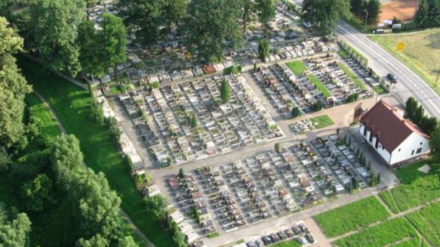 Inwentaryzacja na cmentarzu komunalnym