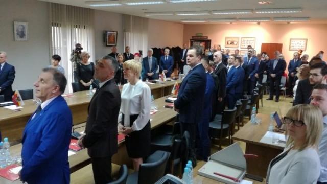 IX sesja Rady Powiatu w Oświęcimiu VI kadencji