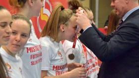 Jagiellonki z Agnieszką Bryzek (nr 19) Mistrzem Polski Futsalu!