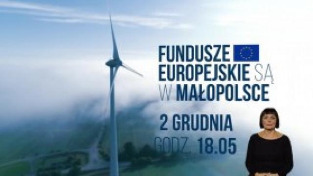 Jak środki unijne pomagają walczyć z koronawirusem w Małopolsce? Dziś premierowy odcinek w TVP Kraków!