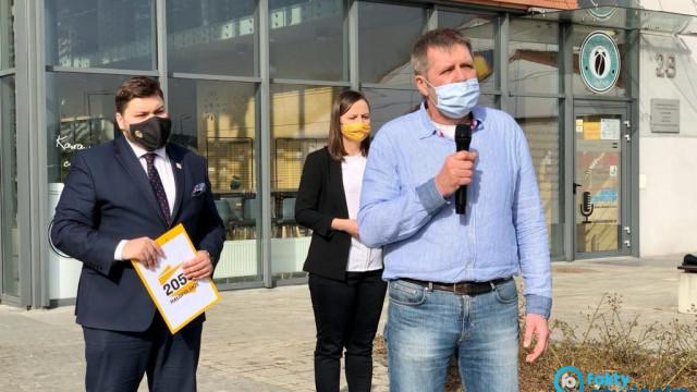 Jan Adamaszek liderem Polska 2050 w Oświęcimiu – FILM