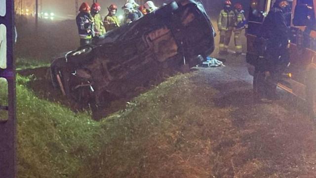 Jerzmanowice. Wypadek na DK94, jedna osoba poniosła śmierć