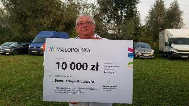 Jerzy Krawczyk wyróżniony w konkursie na Najlepszego Sołtysa Województwa Małopolskiego - InfoBrzeszcze.pl