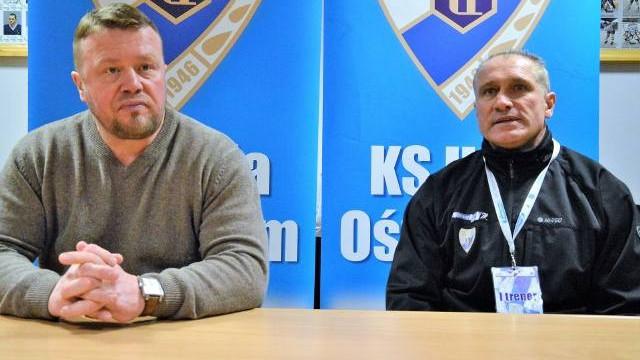 Jirzi Szejba (trener Unii Oświęcim). Ambicja chłopców została nagrodzona [WIDEO]