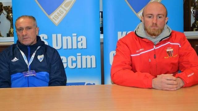 Jirzi Szejba (trener Unii Oświęcim): Wynik uzyskany z Polonią Bytom był lepszy od gry [WIDEO]