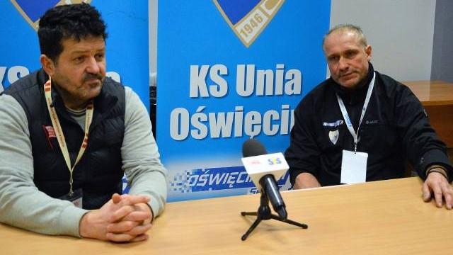 Jirzi Szejba (Unia Oświęcim): Bramkarz, lepsza obrona i skuteczność [WIDEO]